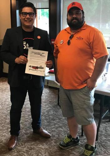 Sean and Tyler