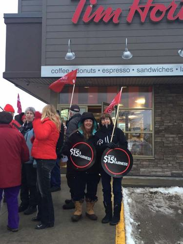 Community support for TH workers