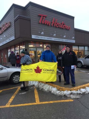 Roy Brady of CofCdns, Doug McDonald