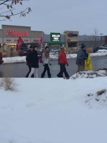 tim hortons workers supported