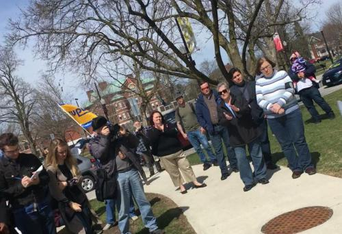 Keith honouring John Ball