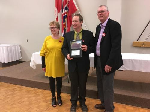 Jerry Lane, Margot Marshall Activist of the Year