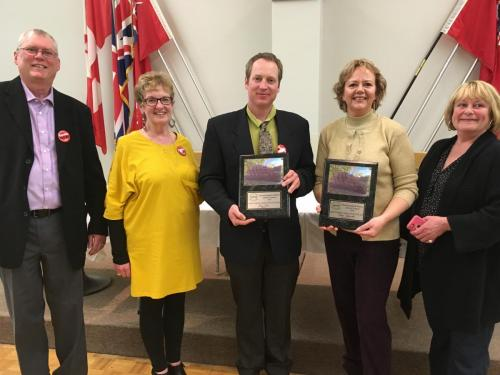 Margot Marshall Activists of the Year
