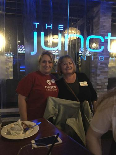 Angela Kelly and Stephanie Levesque