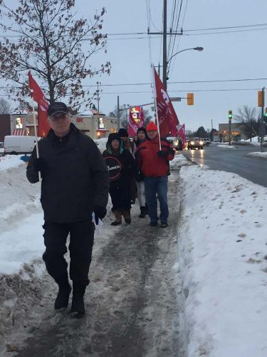 Supporting Tim Hortons Workers