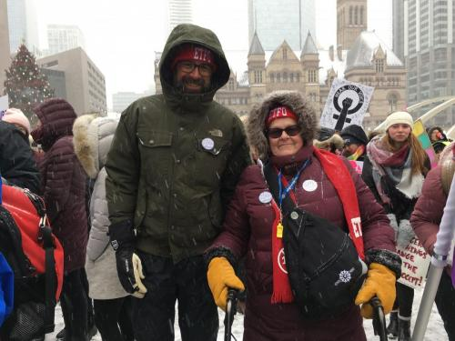 Braving the elements - Wendy Goodes KPR ETFO