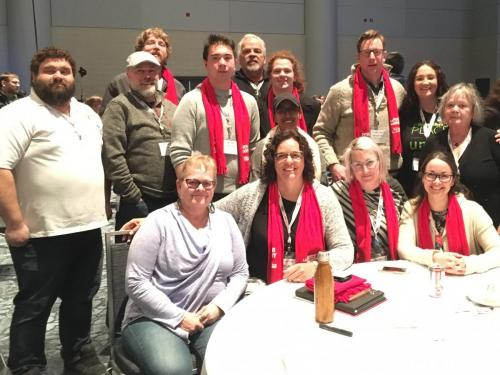 Peterborough Labour & allies at conference